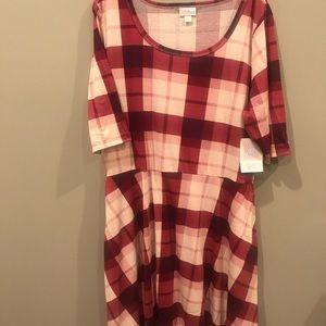 Lularoe Nicole dress w/pockets, BNWT